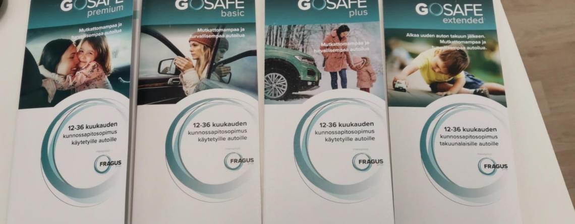 Fragus GoSafe lisäturva autoihin